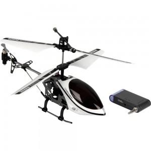 Mit dem Iphone fliegen Sie diesen Helikopter.