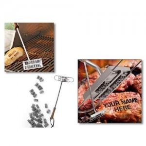 Steak Brandeisen mit Wechselbuchstaben