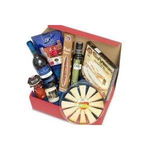 spanischer delikatessen pr sentkorb ol geschenkideen f r m nner m nnergeschenke geschenke. Black Bedroom Furniture Sets. Home Design Ideas